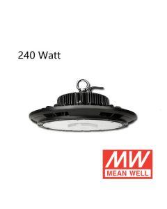 Campana LED UFO 240W con controlador Meanwell 125L / W IP65