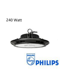Campana Led UFO 240W Regulable con driver Philips 125L / W IP65