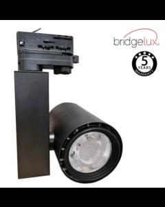 Foco LED Trifásico 40W Berlin NEGRO CRI +90 UGR17