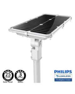 Farola Solar LED 75W Professional con sensor de movimiento K5000