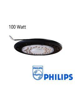 Campana LED UFO 100W con lente antideslumbrante con Philips SMD 100L/W IP65