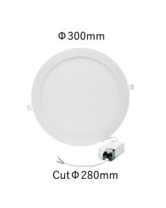 Downlight Panel LED Circular Ø30cm 24W