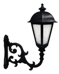 Farola KING para Lámpara LED E27 con Brazo - Aluminio
