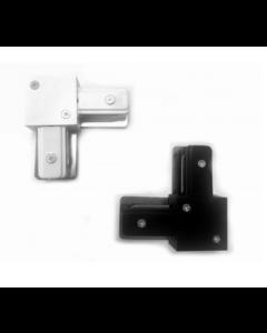 Conexión en L (en forma de L) para iluminación en carril 1 FASE