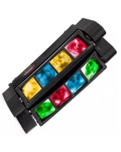 Barra DMX de 24W con foco LED giratorio doble Kentucky